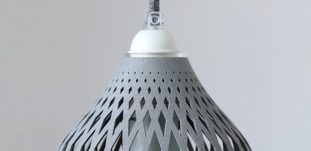 Individuelle Leuchte in 3D gedruckt SLS